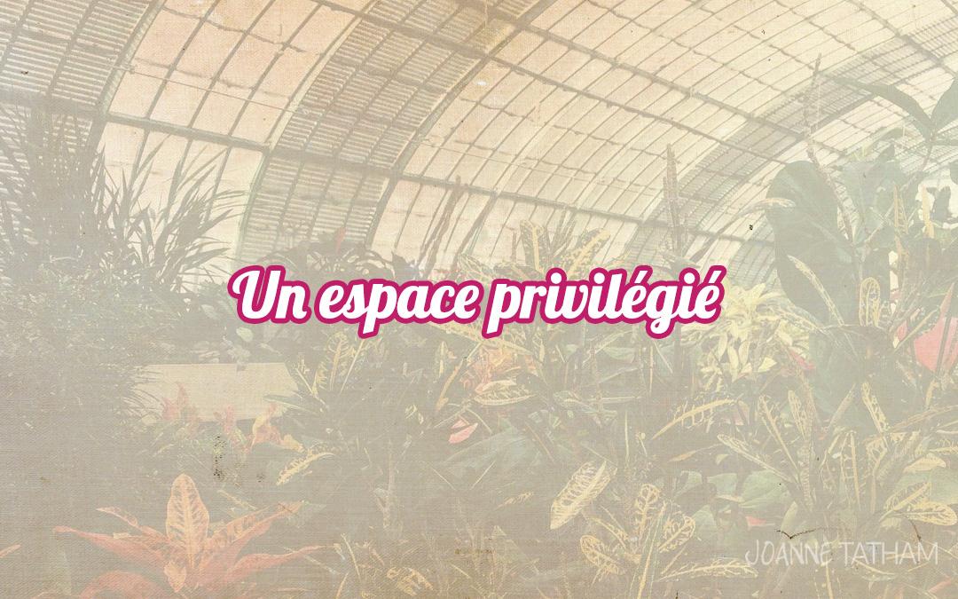 Un espace privilégié