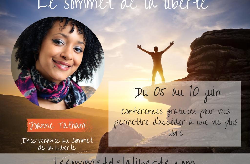 Retrouvez-moi en conférence le 7 juin dans le cadre du Sommet de la Liberté !